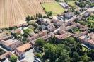 Fotografia aerea del Comune di Barbianello