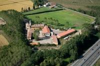 Veduta-aerea-Cascina-Moriano-Comune-Bereguardo