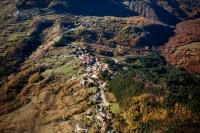 Veduta aerea di Brallo di Pregola