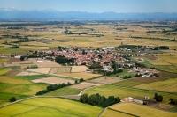 Veduta aerea di Candia Lomellina