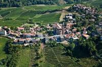 Veduta aerea di Canneto Pavese