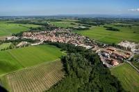 Veduta aerea di Carbonara Ticino