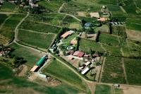 Veduta aerea Comune di Castana - Casa Colombina