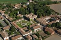 Veduta aerea del Castello di S. Gaudenzio