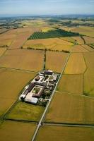 Veduta aerea della Fraz. Giardona nel Comune di Castelnovetto