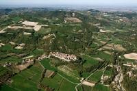 Veduta aerea di Cecima