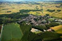 Veduta aerea di Cergnago