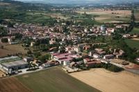 Veduta aerea di Codevilla