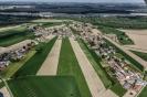 Foto aeree della frazione Ghiaie nel comune di Corana