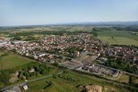 Veduta aerea di Corteolona