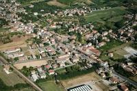 Veduta aerea della Fraz, Fumo nel comune di Corvino S. Quirico