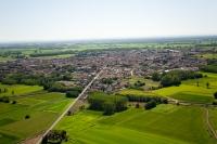 Veduta aerea di Garlasco