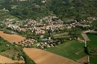 Veduta aerea di Godiasco