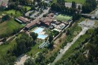 Veduta aerea di Salice Terme