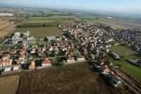 Fotografia aerea Carbonara Ticino