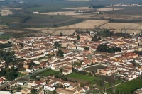 Veduta aerea del Comune di Lomello