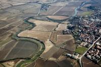 Veduta aerea di Lomello