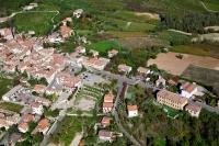 Veduta aerea di Montalto Pavese