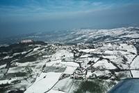 Veduta aerea dei Montalto Pavese
