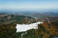 Veduta aerea del Monte Penice