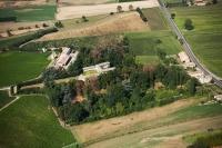 Veduta aerea della fraz. Genetrello nel comune di Montebello della Battaglia