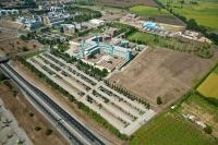 Veduta aerea della Fondazione Maugeri di Pavia