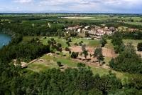 Veduta aerea del Golf Club di Pavia