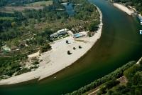 Veduta aerea del nuovo Lido di Pavia
