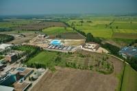 Veduta aerea del centro sportivo del Cravino -  Pavia