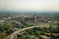 Veduta aerea di Pavia