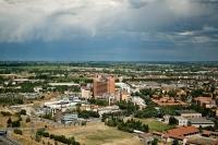 Veduta aerea del nuvo Policlinico S. Matteo di Pavia