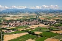 Veduta aerea di Pontecurone