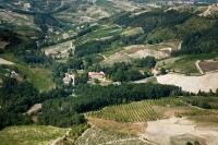 veduta aerea di Rocca De Giorgi