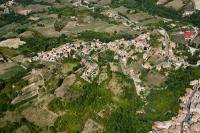 Veduta aerea di Romagnese