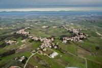 Veduta aerea di S. Damiano al colle