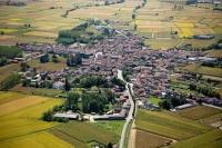 Veduta aerea di S. Giorgio Lomellina