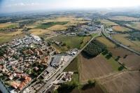Veduta aerea di San Martino Siccomario