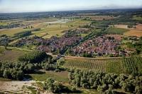 Veduta aerea edi S. Zenone al Po