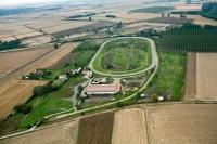 Veduta aerea di Sannazzaro De Burgundi