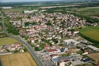 Veduta aerea di S. Cristina e Bissone