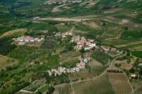 Veduta aerea della fraz. Dorelasco nel comune di S. Maria della Versa