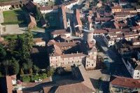 Veduta aerea di Sartirana Lomellina