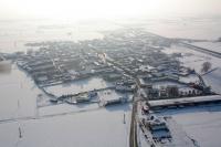 Vedute aeree di Silvano Pietra provincia di Pavia