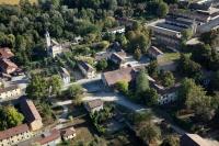 Fotografie aeree di Torre Beretti e Castellaro, provincia di Pavia