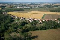 Servizio fotografico aereo di Torre d Isola, provincia di Pavia