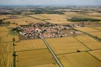 Veduta aerea di Trovo