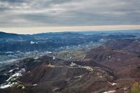 Veduta aerea del castello di Oramala