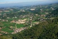 Veduta aerea della fraz. S. Albano