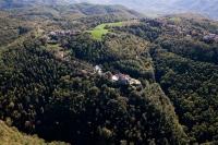 Veduta aerea dell'eremo di S. Alberto di Butrio