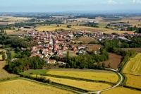 Veduta aerea di Villanova d'Ardenghi